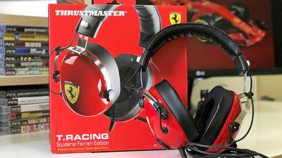 Thrustmaster T.Racing Ferrari Edition é para amantes da velocidade e do bom som