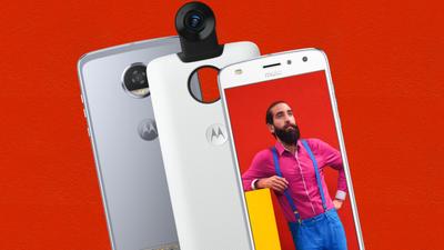 Moto Snap 360 Câmera acaba de chegarpara a família Moto Z