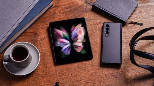 Samsung anuncia Galaxy Z Fold 3 com câmera sob o display, IPX8 e suporte à S Pen