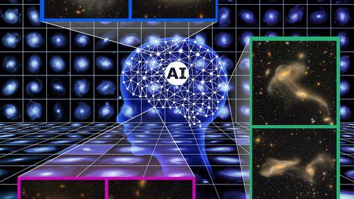 Com inteligência artificial, pesquisadores encontram 560 mil galáxias em imagens
