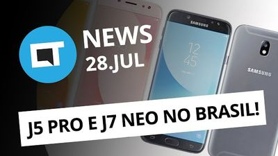 Galaxy J5 Pro e J7 Neo no Brasil; A ciência recomenda jogar durante o expediente