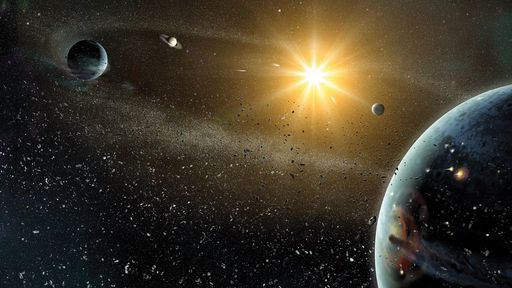 Uma estrela invasora poderia expulsar a Terra do Sistema Solar?