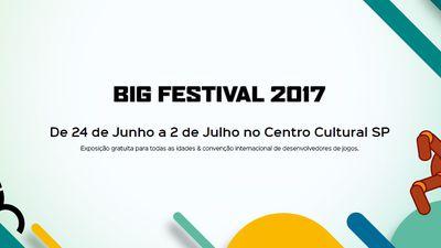 Big Festival, evento de jogos independentes, começa neste fim de semana
