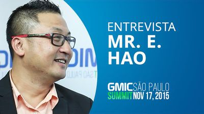 Global Mobile Internet Conference chega ao Brasil - Mr. E. Hao, CEO [GMIC 2015]