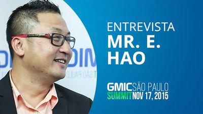 Global Mobile Internet Conference chega ao Brasil - Mr. E. Hao, CEO [GMIC 2015]