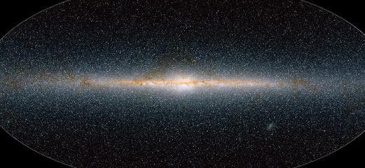 Galáxia mapa 3D do universo