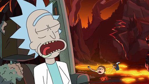 Quinta temporada de Ricky and Morty vira munição para golpistas na internet