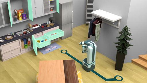 Tecnologia do Facebook treinará robôs domésticos para realizar tarefas de casa