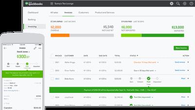 Quickbooks ajuda pequenas empresas a controlarem suas finanças
