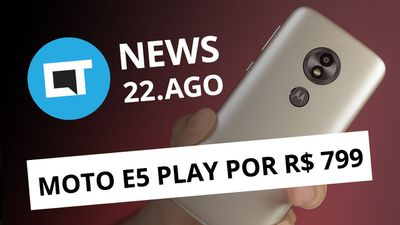 Moto E5 Play com Android Go; Xiaomi Poco F1 por US$ 300; Giphy Stories [CT News]