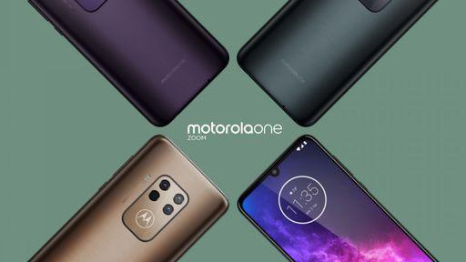 Vazou: Motorola One Zoom terá três cores, zoom híbrido e câmera quádrupla