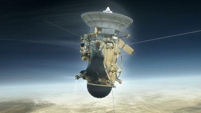 Sonda Cassini morrerá na atmosfera de Saturno na próxima sexta (15)
