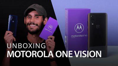Unboxing | Novo Motorola One Vision