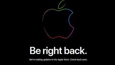 Loja online da Apple sai do ar e novos produtos são esperados