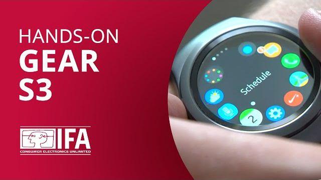 2a5e54e427693 Samsung Gear S3, o novo smartwatch da empresa  Hands-on - IFA 2016  -  Vídeos - Canaltech