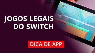 Jogos para Nintendo Switch #DicaDeApp