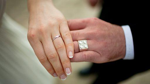 Conheça as alianças de casamento mais geeks