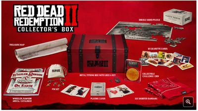 Rockstar revela edições especiais e de colecionador de Red Dead Redemption 2