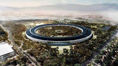 Nova sede da Apple está na reta final; veja imagens aéreas