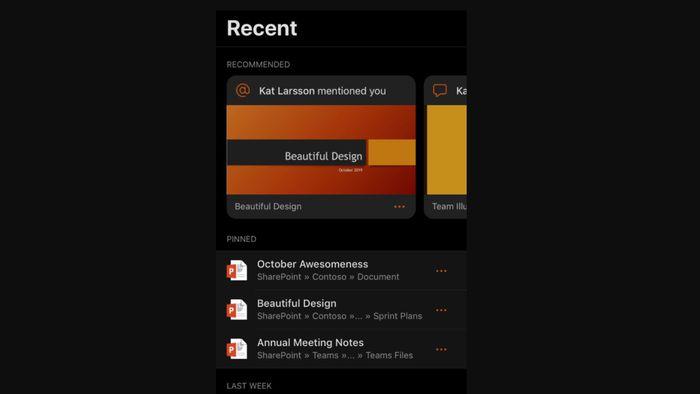 Microsoft atualiza pacote Office com Modo Noturno para o iOS 13