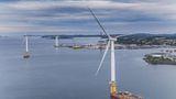 Primeiro parque eólico flutuante do mundo acaba de ser inaugurado na Escócia