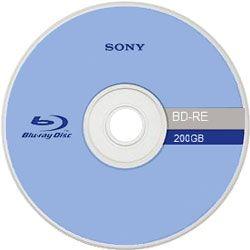 Protótipo de Blu-Ray Sony com capacidade de 200 GB