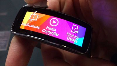 Samsung Gear Fit é atualizado para permitir visualização vertical