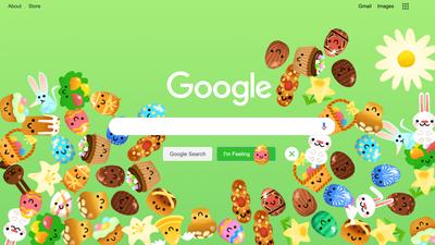 Google traz página especial em homenagem à Páscoa