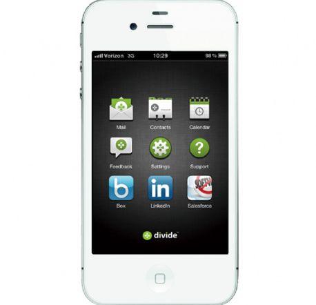 Divide iPhone app