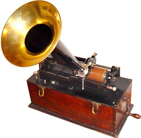 fonógrafo de Thomas Edison