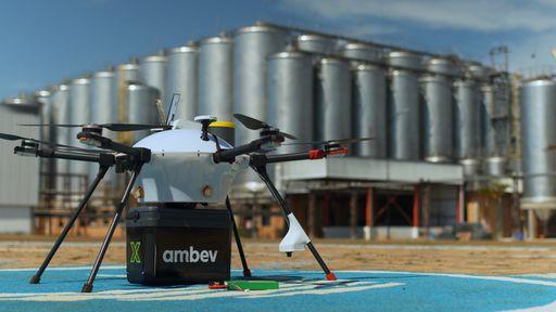 Delivery de bebidas com uso de drones começa a ser testado no Brasil