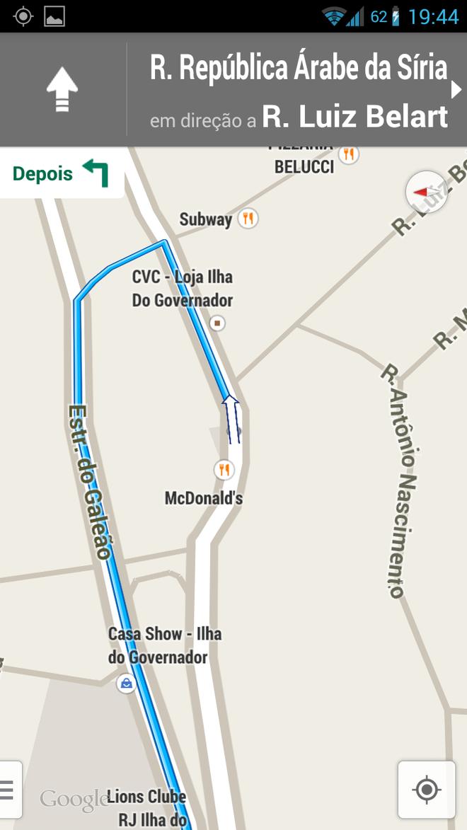 Google Maps - Navegação