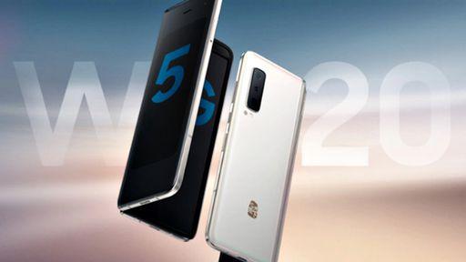 Samsung lança o dobrável W20 5G, seu primeiro smartphone com Snapdragon 855+