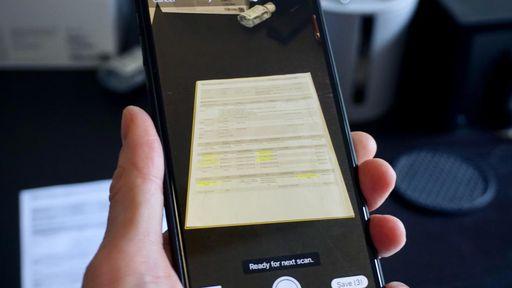 Aprenda a digitalizar documentos no iPhone
