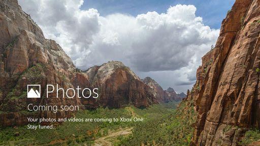 Aplicativo Fotos está chegando para o Xbox One