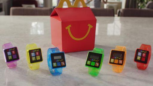 McDonald's inclui contador de passos como brinde do McLanche na América do Norte