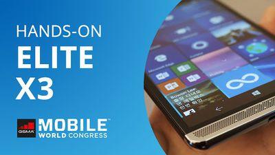 Elite X3: HP: smartphone com Windows 10 Mobile que funciona como PC [Hands-on | MWC 2016]