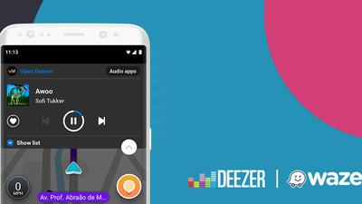 Waze e Deezer agora andam juntos no Android