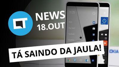 Novos smartphones Nokia, tela flexível da Xiaomi, Dell EMC World e + [CTNews]