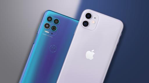 Moto G100 vs iPhone 11: topo de linha Android acessível ou iOS mais barato?
