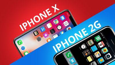 iPhone X vs iPhone 2: o que mudou em dez anos?