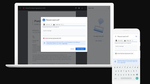 Google testa sistema de aprovação de arquivos no Drive