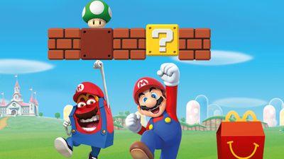 McDonald's volta a ter brinquedos de Super Mario Bros