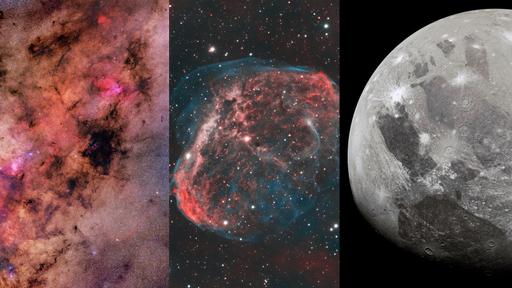 Destaques da NASA: fotos astronômicas da semana (12/06 a 18/06/2021)