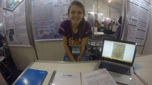 Estudante brasileira de 16 anos é finalista em feira de ciências do Google