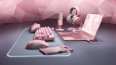 Razer expande linha Quartz com ainda mais aparelhos na cor rosa
