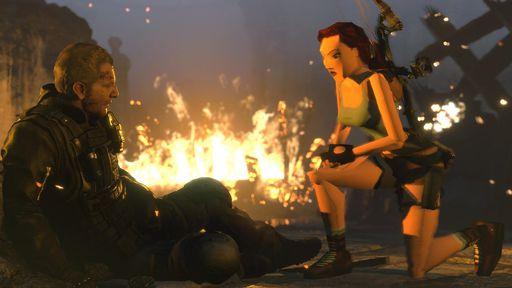 Rise of the Tomb Raider para PS4 terá Lara Croft retrô; confira imagens