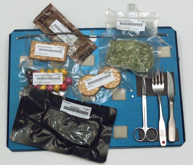 Comida no espaço