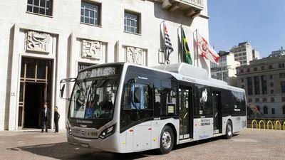 SPTrans apresenta o primeiro ônibus elétrico fabricado no Brasil