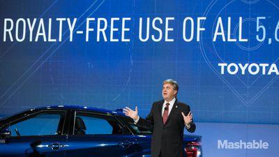 CES 2015: Toyota libera suas patentes de células de combustível de hidrogênio